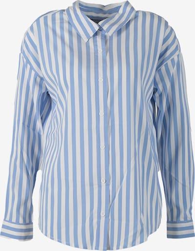 Miracle of Denim Bluse in rauchblau / weiß, Produktansicht