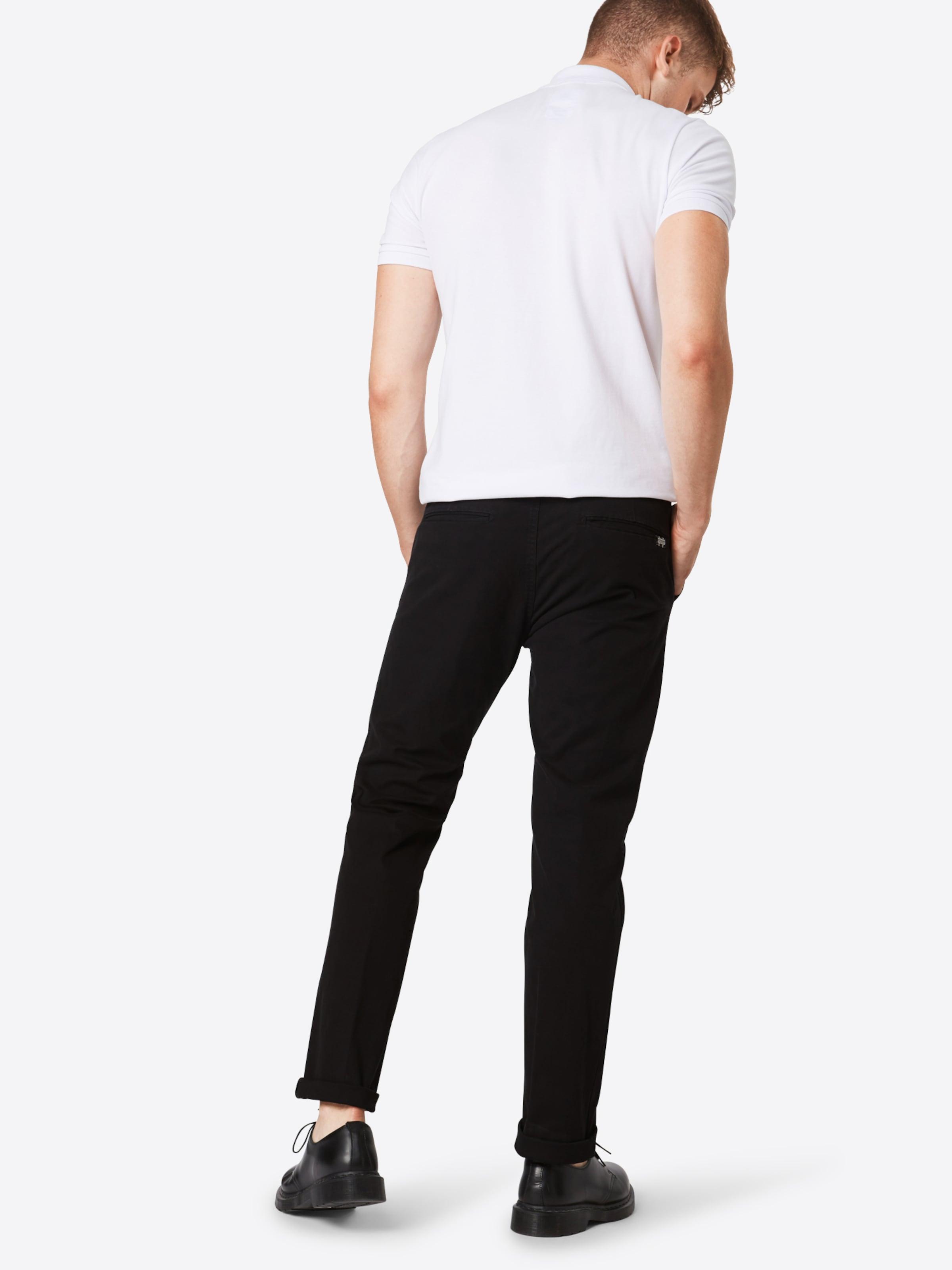 Chino Noir Garment dyed' Pantalon 'stuartClassic En Scotchamp; Soda xBrWdCoe