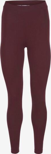 ADIDAS ORIGINALS Leggings in burgunder / weiß, Produktansicht