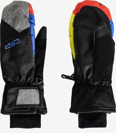 CMP Handschuhe in mischfarben / schwarz, Produktansicht