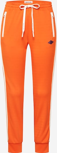 REPLAY Hose in orange, Produktansicht