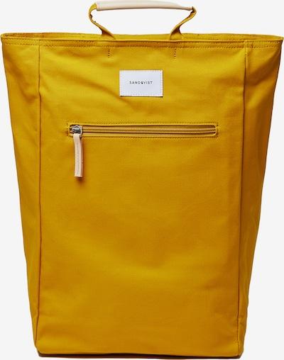 SANDQVIST Rucksack 'Tony' in gelb, Produktansicht