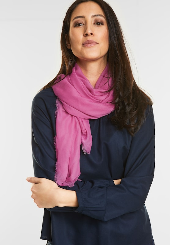 Street One Scarf In Plain