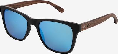 TAKE A SHOT Lunettes de soleil 'New Grimm Collection' en bleu / marron / noir, Vue avec produit