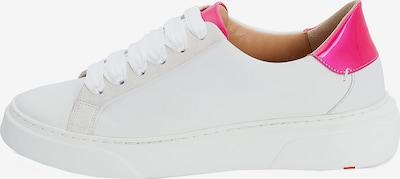 LLOYD Sneaker mit hohem Plateau in pink / weiß, Produktansicht