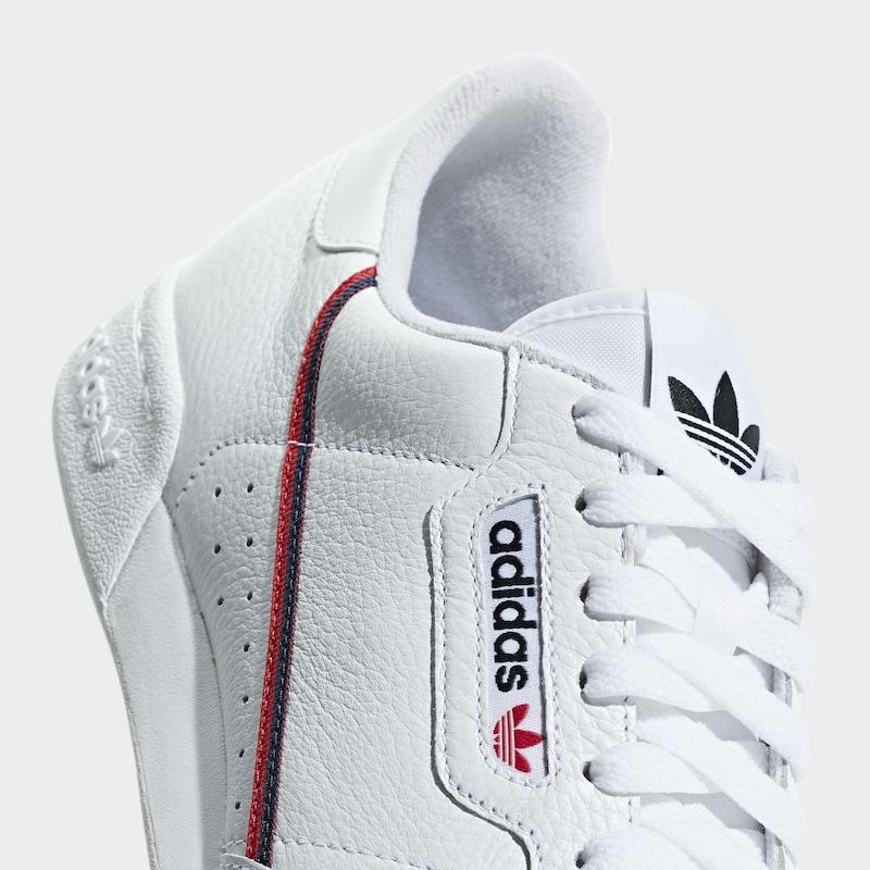 Adidas 80' 'continental En Baskets Bleu MarineRouge Originals Basses Blanc PnkO08w