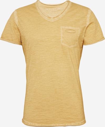 Key Largo T-Shirt 'Soda' mit V-Ausschnitt in gelb: Frontalansicht