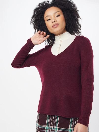 Megztinis 'Clean' iš ONLY , spalva - vyno raudona spalva: Vaizdas iš priekio