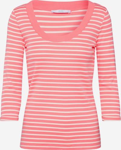 EDC BY ESPRIT Shirt 'Flow' in koralle / weiß, Produktansicht