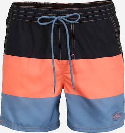 O'NEILL Sportzwembroek 'HORIZON' in de kleur Neongeel / Olijfgroen / Zwart, Productweergave