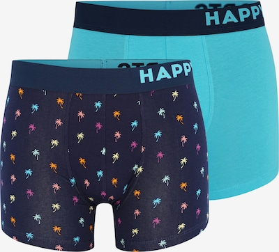 Happy Shorts Retroshorts ' Trunks ' in hellblau / dunkelblau, Produktansicht