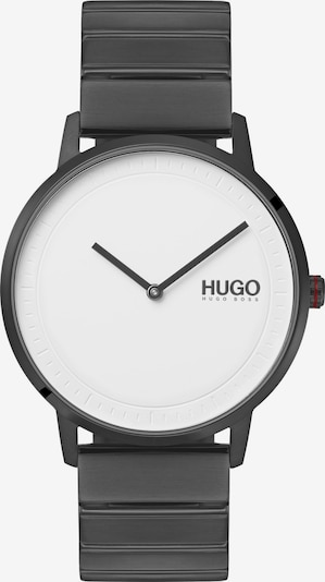 HUGO Unisexuhr 'Echo' in basaltgrau, Produktansicht