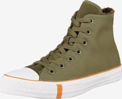 CONVERSE Sneaker 'Chuck Taylor' in khaki / weiß, Produktansicht