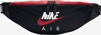 Nike Sportswear Gürteltasche in rot / schwarz / weiß, Produktansicht