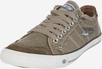 Dockers by Gerli Sneaker zum Reinschlüpfen in grau / taupe / weiß, Produktansicht