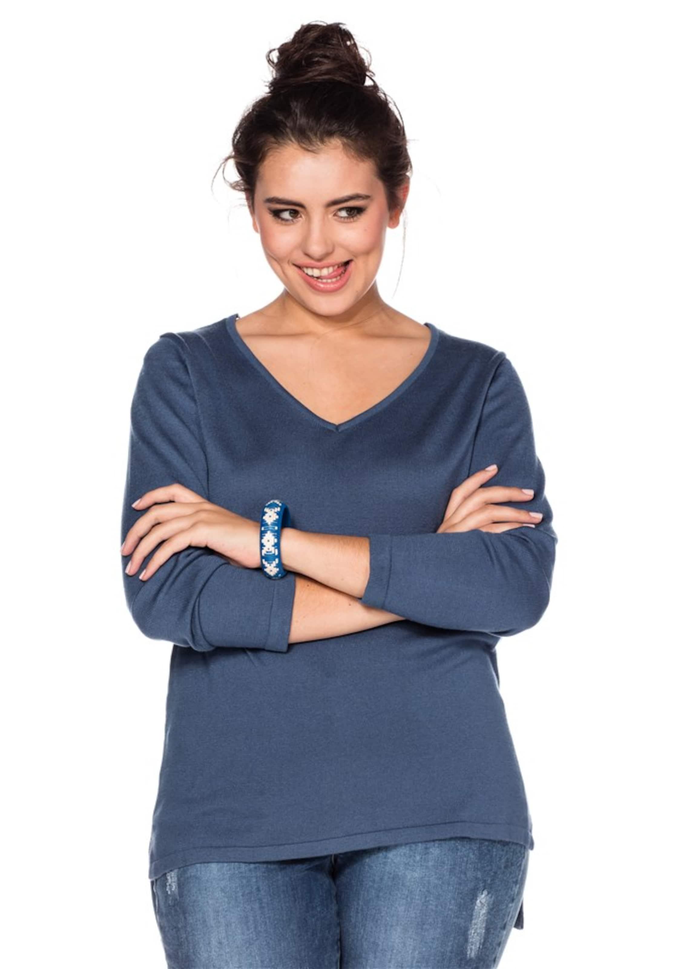 In Pullover Pullover Sheego Pullover In In In Sheego Blau Pullover Sheego Blau Blau Sheego wikXlOPZuT