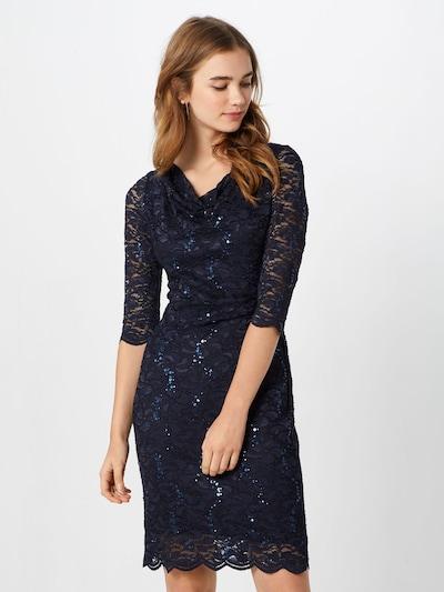 Vera Mont Kleid in dunkelblau, Modelansicht