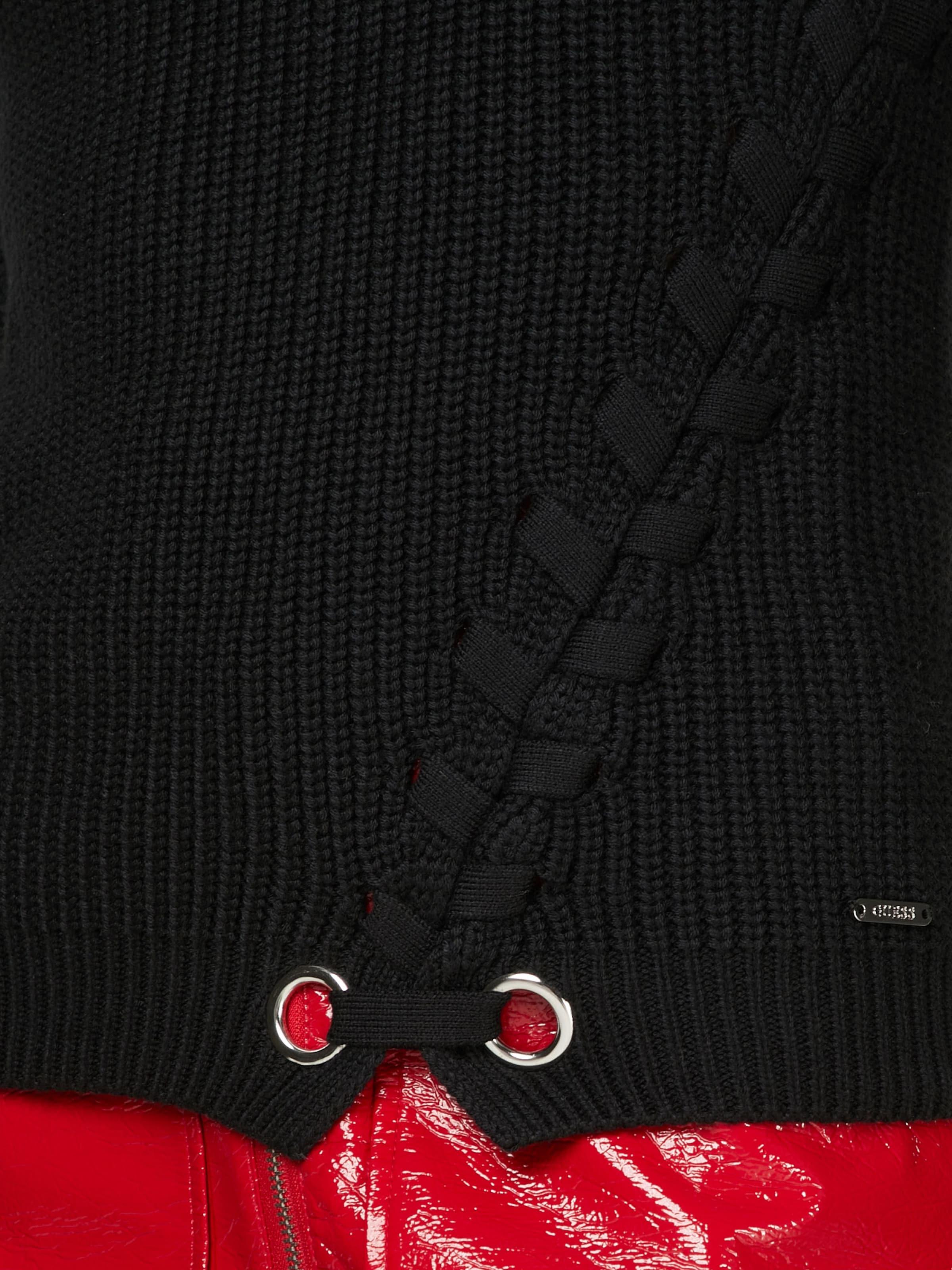 GUESS Grobstrickpullover 'VICKY' Discount Versandkosten Frei Verkauf Beste Geschäft Zu Erhalten Online Kaufen Neue Extrem Verkauf Online pjdnCTA5L