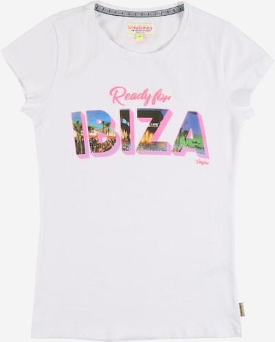 VINGINO T-Krekls 'Houani' pieejami jauktu krāsu / balts, Preces skats