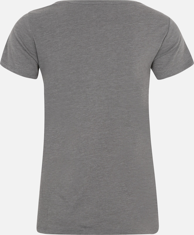 shirt ChinéBlanc T Iriedaily Gris 'blowball' En 0XOPkn8w