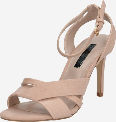 Miss Selfridge Sandale 'Crossover Sandals' in nude, Produktansicht