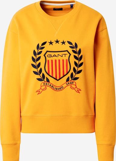 Tricou GANT pe navy / galben / roșu, Vizualizare produs