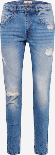 Redefined Rebel Jean 'Stockholm Destroy' en bleu denim, Vue avec produit