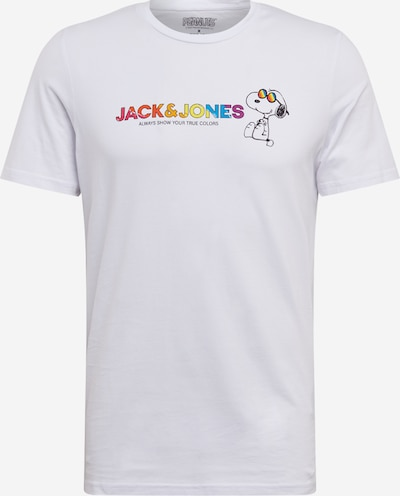 Tricou 'Peanuts Pride' JACK & JONES pe alb, Vizualizare produs