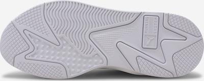PUMA Trampki niskie 'RS-X³ PUZZLE' w kolorze srebrny / białym: Widok od dołu