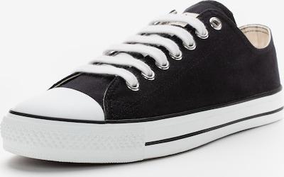 Ethletic Baskets basses en noir / blanc, Vue avec produit