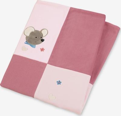 STERNTALER Kocyk dla niemowlaka 'Mabel' w kolorze różowy / ciemnoróżowym, Podgląd produktu
