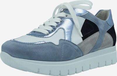SEMLER Schnürschuhe in navy / rauchblau / grau / weiß, Produktansicht