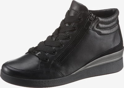 ARA Lace-Up Ankle Boots in Black, Item view