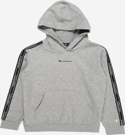Champion Authentic Athletic Apparel Sweatshirt in graumeliert / schwarz, Produktansicht