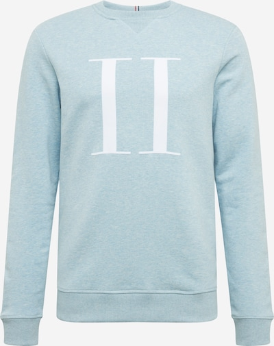 Les Deux Sweatshirt 'Encore Light' in de kleur Lichtblauw, Productweergave