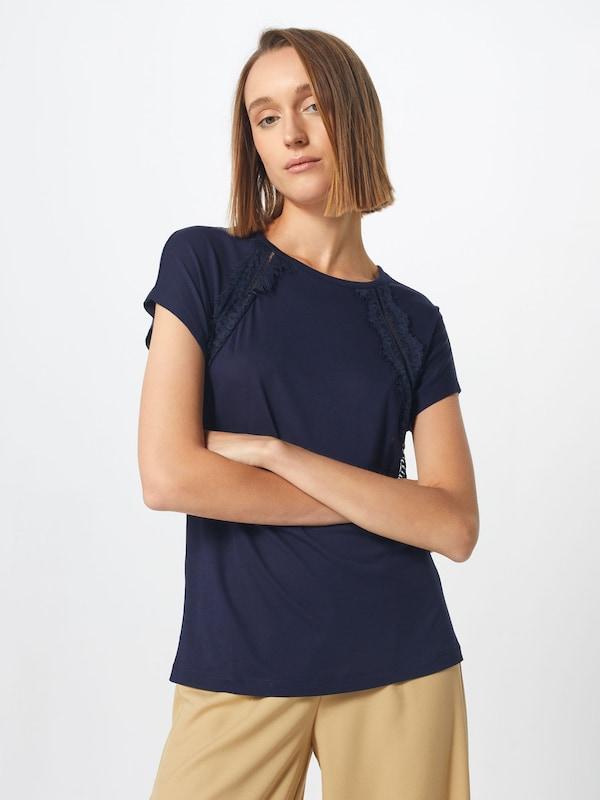 En Bleu 'mirja' Foncé T shirt nkO0wP
