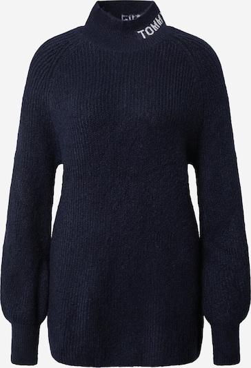 Tommy Jeans Pullover in navy / weiß, Produktansicht