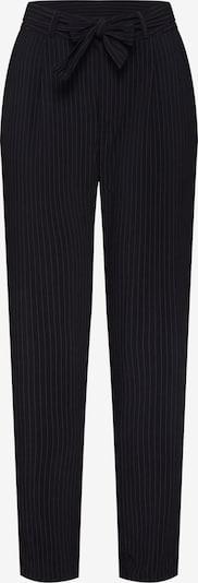 JACQUELINE de YONG Chino 'JDYOMA BELT PANT WVN' in de kleur Zwart / Wit, Productweergave
