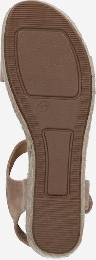 ABOUT YOU Sandale 'Josie' in beige: Ansicht von unten