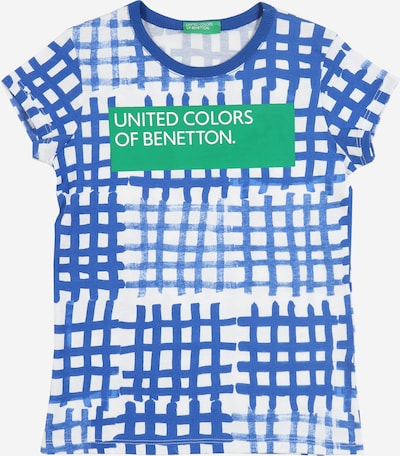 UNITED COLORS OF BENETTON Shirt in blau, Produktansicht