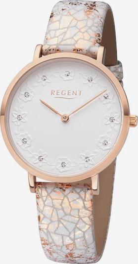 REGENT Uhr 'BA-664 3226.73.10' in rosegold / weiß, Produktansicht