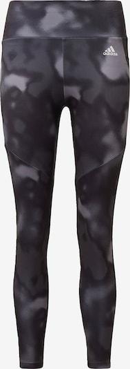 ADIDAS PERFORMANCE Športne hlače | siva / črna / bela barva, Prikaz izdelka