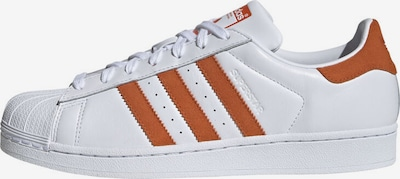 ADIDAS ORIGINALS Baskets basses 'Superstar' en bronze / blanc: Vue de face
