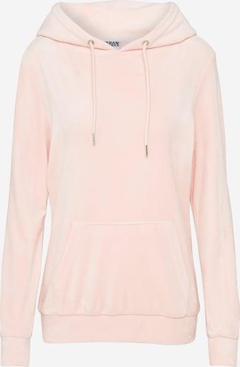 Urban Classics Hoody in rosa, Produktansicht