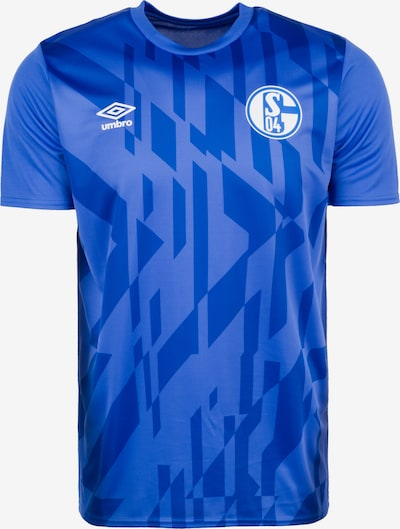 UMBRO Tricot 'FC Schalke 04 Warm Up' in de kleur Royal blue/koningsblauw / Donkerblauw, Productweergave