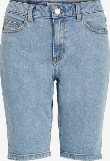 OBJECT Slim Fit Jeansshorts in blau: Frontalansicht