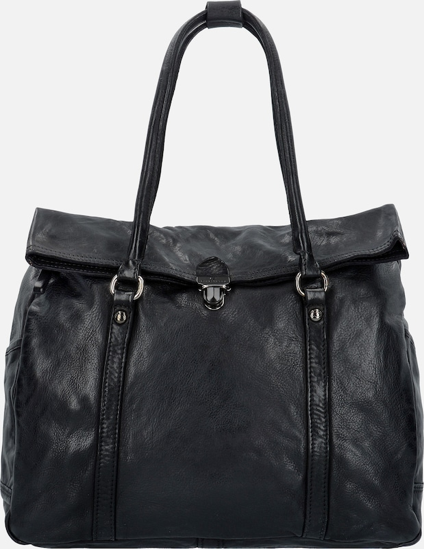 Campomaggi Geranio Shopper Tasche Leder 36 cm
