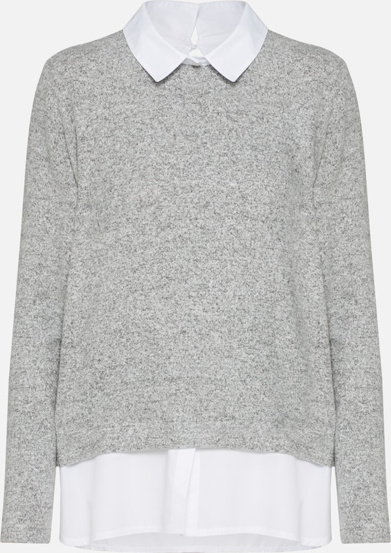 Pull over Gris Moreamp; ArgentéChiné En 7yYb6fvg
