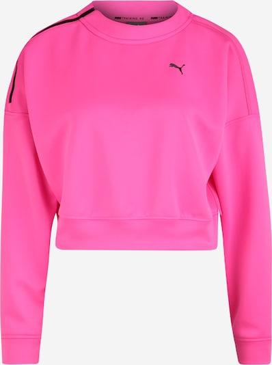 PUMA Sweatshirt in pink / schwarz, Produktansicht