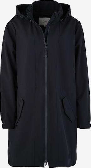 Zizzi Manteau fonctionnel en bleu foncé, Vue avec produit